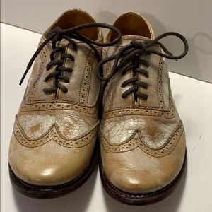 BED-STU HANDCRAFTED GENUINE LEATHER SHOES SZ 7.5